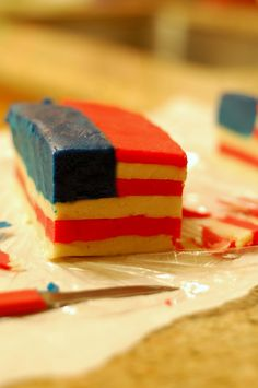 How to make quick and easy 4th of July cookies  #4thofjuly
