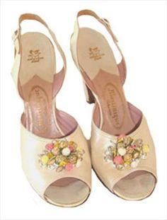 Martinique Vintage Sling Back 50s Shoes