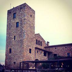 Castell d'Emporda hotel near La Bisbal, Costa Brava