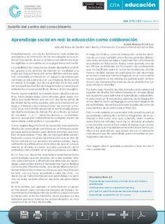 Aprendizaje social en red: la educación como colaboración David Álvarez @balhisay