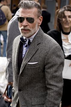 this man, nick wooster, fashion, old men, bow ties