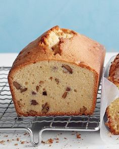 Brown-Sugar, Maple, and Pecan Pound Cake Recipe