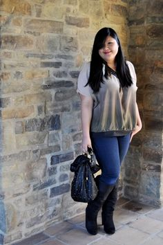 almost same style and fabric as one from Bayo.  Curvy Girl Chic - Plus Size Fashion and Style Blog