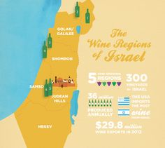 An Israeli wine guide, featuring Kosher for Passover wines!