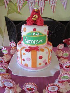 Sesame Street cake #cake #sesamestreet #girly