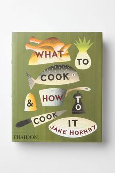 what to cook and how to cook it #giftspiration
