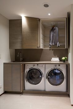 Hidden Laundry Room Design Ideas, Pictures, Remodel and Decor