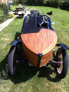 Amilcar C4 boat tail 1923
