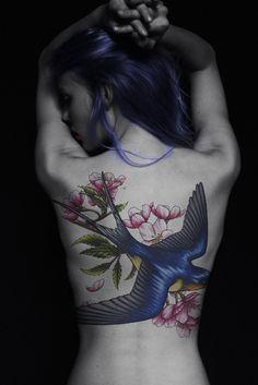 Awesome bird piece!