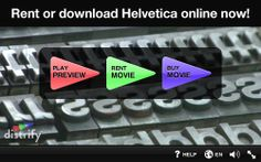 Helvetica the Movie...Great Video to share with your staffs as an introduction/follow-up piece to Typography. Very 21st Century/Common Core standard lesson plan implementation. Take a look at the preview!