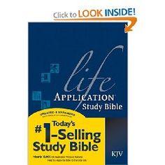 Love my KJV Life Application Study Bible!