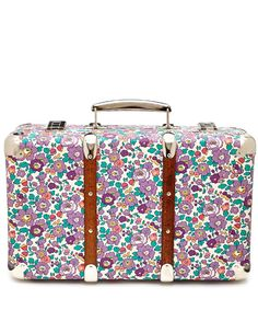 Flowers of Liberty Betsy Liberty Print Mini Suitcase