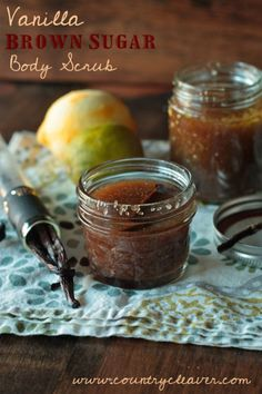 DIY Vanilla Brown Sugar Body Scrub