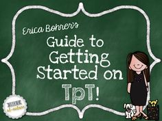 Erica's Ed-Ventures: Getting Started on TpT