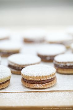 chocolate filled cookie sandwiches