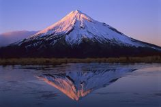 Mt. Taranaki, New Zealand