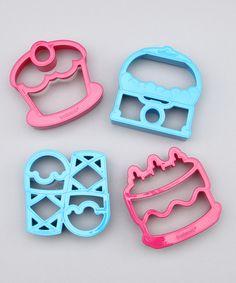 cupcak, ice cream sandwiches, cutter set, sweet sandwich, lunch punch, blue sweet, blues, kid, sandwich cutter