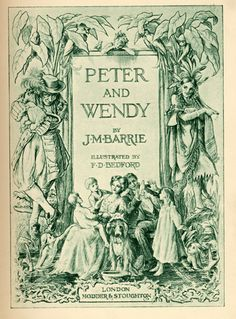 Peter and Wendy- J.M Barrie
