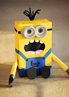 This is SO cool!!! I loved Despicable Me. Want to watch the second one!!! Valentine box