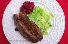 Gourmet Girl Cooks: Slow Cooked Boneless Beef Short Ribs w/ Ancho-Cranberry Au Jus