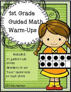 Daily Guided Math Warm-Ups--31 sheets to help you get your math lesson started.  These are to be done quickly and collaboratively to help review previous skills taught!