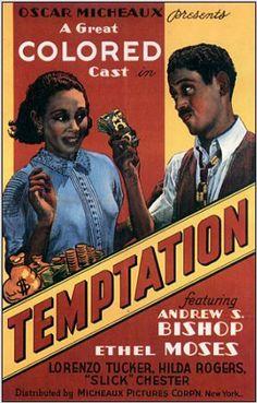 Temptation - Oscar Micheaux by Black History Album, via Flickr