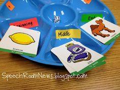 Snack tray activity - Speech Room News
