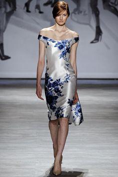 Lela Rose Spring 2015 - Elegant.