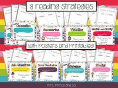mrs. prince & co.: Sticky Note Reading Strategies!