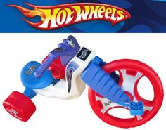 "The Original Big Wheel ""HOT WHEELS"" Trike Limited Edition Ride-On - Red/Wht/Blue w/Blue Decals"