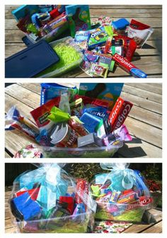 Great ideas for Easter basket stuffers for kids in college.