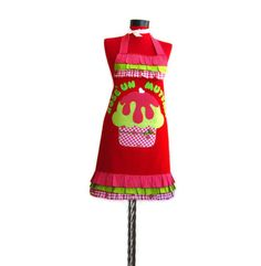 Full apron set Water and Stain Resistant double  by rengarenk, $50.00