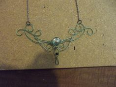 Wire Celtic/Elven Necklace tutorial