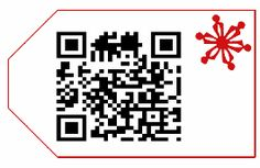 QR gift tags...LOVE this idea! - would be cute for class parties
