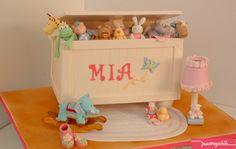 Toy Box Cake cakes, pastrychik, toys, toy boxes, mia toybox, amaz toy, cake infantil, toybox cake, babi shower