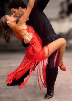 Dance. Tango. Red hot.
