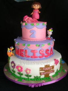 Dora cake | Flickr - Photo Sharing!