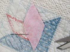 The Quilt Ladies Book Collection: How to Repair an OLD Quilt - Making an OLD Quilt NEW Again !