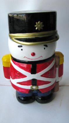 Drummer Boy Cookie Jar