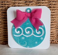 Christmas Cards Greeting Cards Ornament Style by CardinalBoutique, $2.25