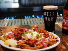 Make breakfast poutine with poached eggs and beer gravy. http://greatideas.people.com/2014/04/25/ty-burrell-beer-bar-salt-lake-city-utah-breakfast-poutine-beer-gravy-recipe/ poach egg, beer bar, salt lake city