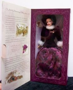 1997 Hallmark Holiday Traditions Barbie