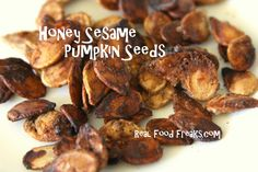 Honey Sesame Pumpkin Seeds