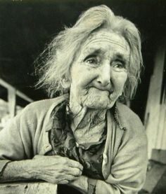 """Mary Jennings Bumgardner, who is described at the museum as a """"saintly lady who lived on a steep hillside in Foust with her husband Lee, just three miles south of the museum."""" PHOTO: Museum of Appalachia, Tennessee"""