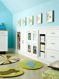 built ins for kids' rooms