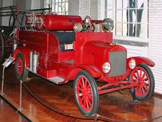 1926 Ford Model T Fire Truck with American LaFrance Equipment My greatgrandfather had one similar