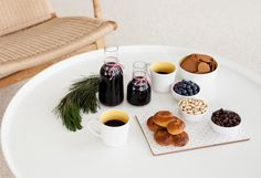 This delicious Blueberry Glögg, by Green Kitchen Stories, adds a unique twist to a #Swedish favourite. The perfect end to a delicious #Christmas spread.