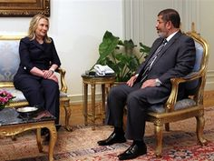 EGYPT'S MUSLIM BROTHERHOOD PRESIDENT.  This week, he told Obama to jump; Obama asked how high.