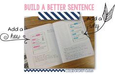 Collaboration Cuties: How to Build a Better Sentence- The BEST way to start the school year in writing!!