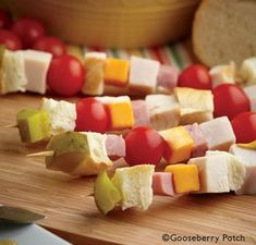 Gooseberry Patch Recipes: Sandwich on a Stick More